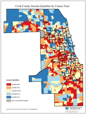 cook county quintiles